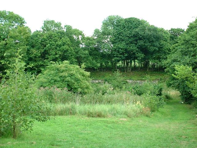 Jim Mart Nature Reserve from the entrance (August 2010)